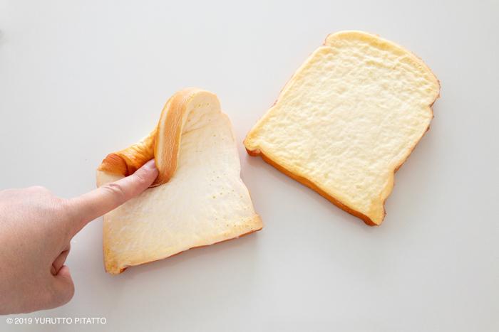やわらかい食パンのおもちゃ