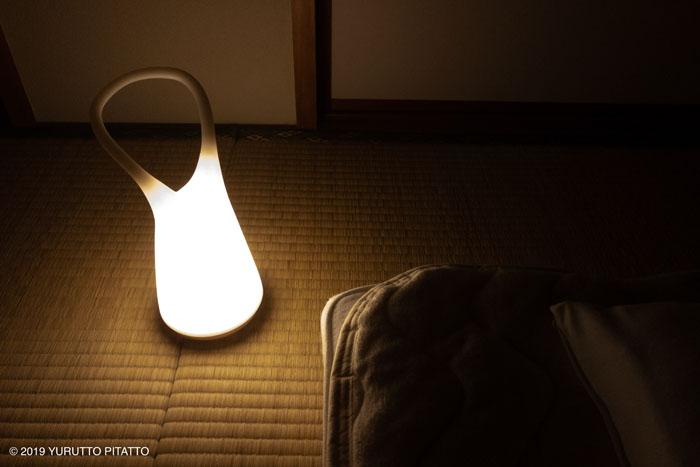 ニトリのLEDランプ(ホルン)夜中の授乳に便利なライト