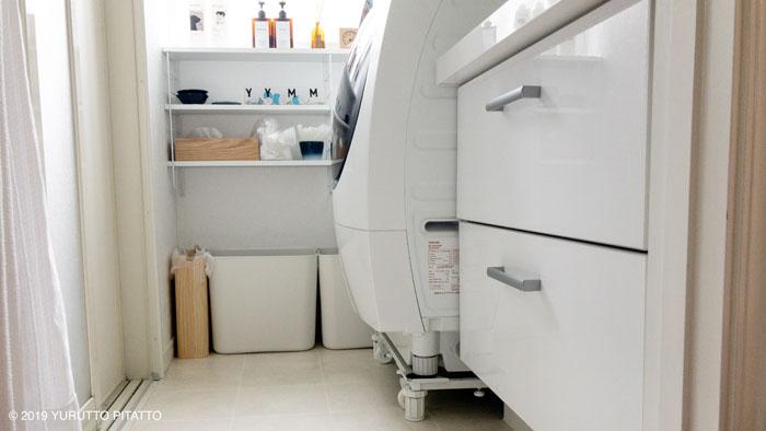 DIY後の賃貸洗面所