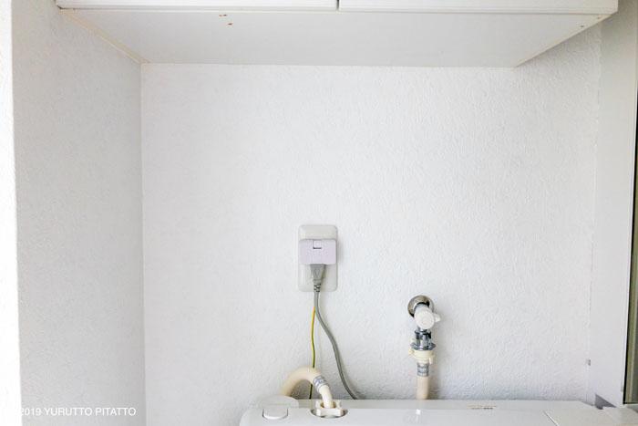 白いペンキで塗った壁