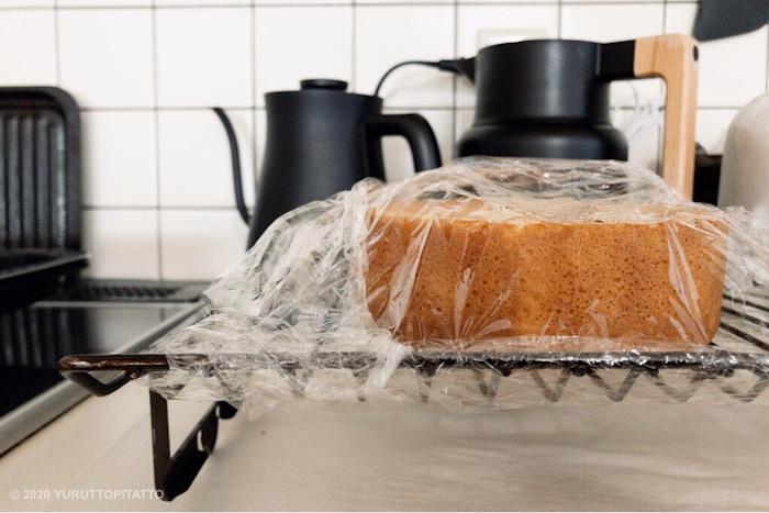 手作りスポンジケーキ