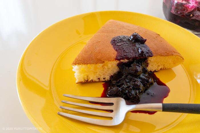 ティーマハニーとホットケーキ