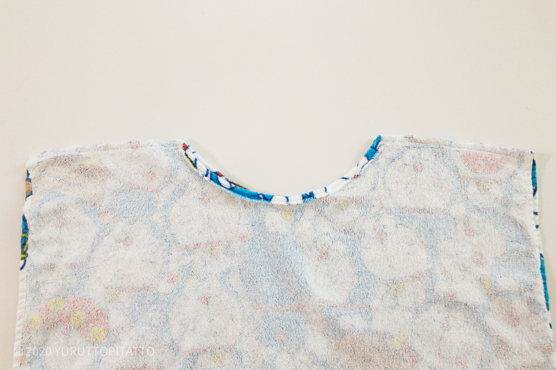 プール用タオルの縫い方
