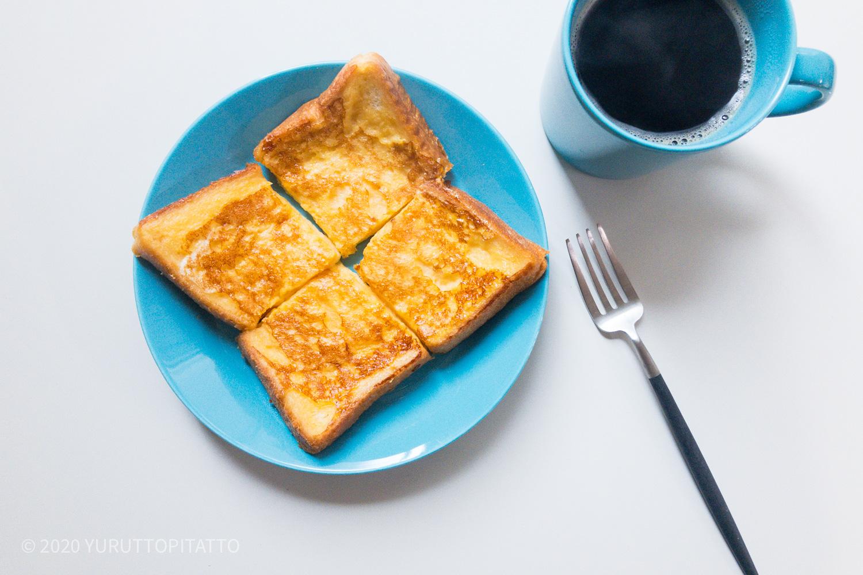 ティーマターコイズとフレンチトースト