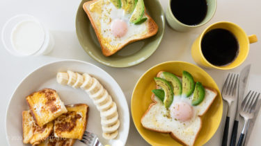 【Ittala Teema】ティーマの色選びを楽しむ休日朝ごパン。(第4回)