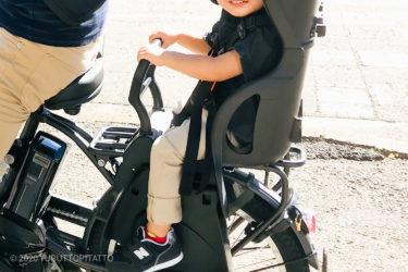 【子乗せ自転車の日除け】100均のアルミバッグでリヤチャルドシートに簡単サンシェード。