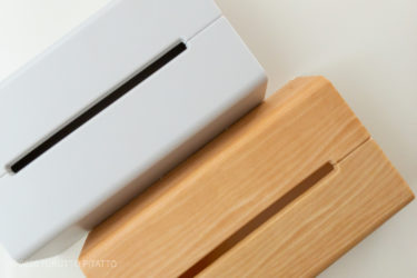 【ideacoの壁に貼れるティッシュケース】インテリアグッズの色選びで、スッキリ見せる。